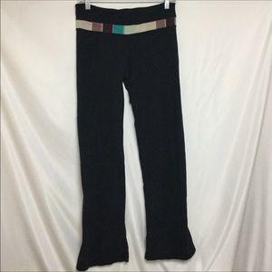 Black Lululemon Groove Pants Size 8
